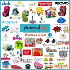 We're excited to be a part of Favored.by's #BacktoSchool giveaway! Enter to win a Go and Grow Walker, Play Table & Chairs along with lots of other awesome prizes! http://favored.by/press/favored-by-back2school-giveaway