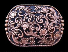 DETAILED FLOWER FLORAL BLOOMING WESTERN STYLE BELT BUCKLE BOUCLE DE CEINTURE Rodeo Belt Buckles, Cool Belt Buckles, Cowgirl Bling, Cowboy And Cowgirl, Western Style Belts, Western Wear, Bling Belts, Turquoise Rings, Fashion Belts
