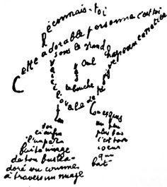 Reconnais-toi poème d'Apollinaire à Louise de Coligny-Châtillon(1881 -1963) une des premières aviatrices muse et amante de   Guillaume Apollinaire qui en tombe amoureux et qu'il surnommera « Lou » alors qu'elle vit sur la Côte d'Azur. Ils entretiennent une courte liaison puis une correspondance enflammée en 1914, avant qu'il ne parte à la guerre. Ils rompent en 1915. Il lui dédie son recueil Poèmes à Lou