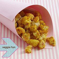 Zero points Cauliflower popcorn (Break a head of cauliflower intopopcornlike bitesize florets then spread them on a baking sheet linedwith parchment paper. Spray the cauliflower lightly with butterflavorcooking spray then sprinkle lightly with turmeric freshly ground pepperand sea salt. Bake 20 to 30 minutes at 425 degrees F or until thecauliflower is slightly browned.) (1 cup = 29 cal. 5 g carb. 0 g fat 2g pro.)