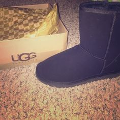 ugh boots brand new boots. I had brought some different ones. in the box still never worn! UGG Shoes Winter & Rain Boots