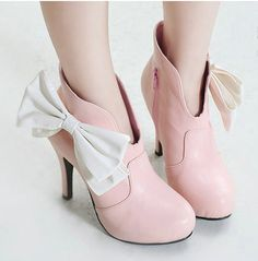 gorgeous-bow-platform-white-wedding-evening-party-ankle-boots-high-heel-plus-size-custom-made-1_650x650px.jpg (488×495)