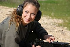 Female Weapons Instructor