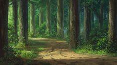 forest anime scenery fondo fantasy floresta fondos deviantart drawing bosque landscape pantalla village alphacoders 1920 artstation dao camino images6 backgrounds