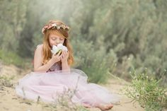Children photography ideas. Styled session. Beach session. Princess style