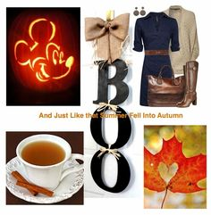 Dots N Bows: Summer Turning Into Autumn #Fall #Autumn