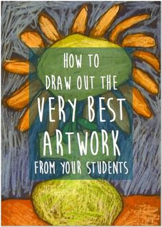 How to Draw Out the Very Best Artwork from Your Students You are in the right place about Art Education illustration Here we offer you the most beautiful pictures about the Art Education ideas you are Middle School Art, Art School, High School, Art Stand, Art Projects For Adults, Tin Art, Art Curriculum, Curriculum Planning, Illustrations