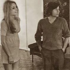 Sharon&Roman 1969 #sharontate #model #mother2b #legend #sexy #young #thin #flawless #director #polishhusband #romanpolanski #remember #friends #missed #aug #americanbeauty #1969 #beautiful #canyon #hollywood #married