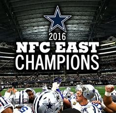NFC East Champions 2016. Hold Down the East. ⭐️