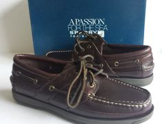 #shoes men style Sperry Top-Sider men size 9.5M Mariner ASV AMARETTO brown leather boat shoes NIB withing our EBAY store at  http://stores.ebay.com/esquirestore