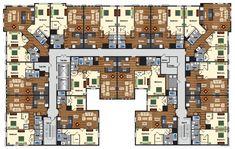 Apartment Complex Random Floor Plan Small Layout Plans 2 Story