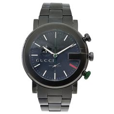 4f87479dcf4 Gucci Men s G Chronograph PVD Stainless Steel Bracelet Watch