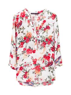 10 Summer Shirts for Tank Top Haters Zara Official Website, How To Make Clothes, Making Clothes, Floral Fashion, Summer Shirts, Zara Women, Floral Tops, Fashion Beauty, Fashion Outfits