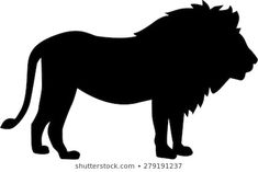 Find Lion Silhouette stock images in HD and millions of other royalty-free stock photos, illustrations and vectors in the Shutterstock collection. Safari Jungle, Safari Theme, Jungle Animals, Lion Silhouette, Silhouette Clip Art, Dot Painting, Fabric Painting, Afrika Festival, Stencil Fabric