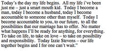 sweetest wedding vows ever