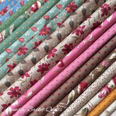 """Ok, ok, I'll share some of the """"Jellybean"""" prints as well, they are so yummy! Laundry Basket Quilts, Laundry Baskets, Quilt Material, Fabulous Fabrics, Fabric Shop, Quilting Fabric, Soft Surroundings, Quilt Tutorials, Jelly Beans"""