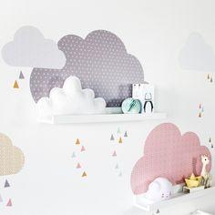 IKEA Kinderhochbett pimpen passende Wanddeko www.limmaland.com