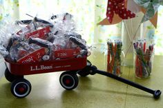 little red wagon theme by angela Baby First Birthday, First Birthday Parties, 4th Birthday, First Birthdays, Birthday Ideas, Cute Themes, Party Themes, Party Ideas, Gift Ideas