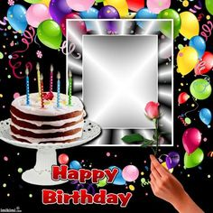Kimi template created by Birthday Cake For Brother, Happy Birthday Cake Writing, Birthday Cake Write Name, Happy Birthday Cake Photo, Happy Birthday Template, Happy Birthday My Love, Birthday Cards, Happy Birthday Gif Images, Happy Birthday Wishes Messages