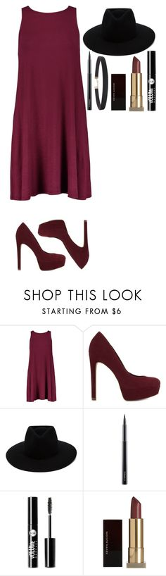 """""""Untitled #371"""" by dutchfashionlover ❤ liked on Polyvore featuring ALDO, rag & bone, MAC Cosmetics, Charlotte Russe, Kevyn Aucoin, Humble Chic and burgundy"""