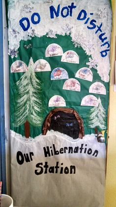 """Winter preschool theme about hibernation. To go with """"The Bear Snores On"""" and """"Hibernation Station"""" books. Preschool Science, Preschool Crafts, Preschool Activities, Bear Theme Preschool, January Preschool Themes, Animals That Hibernate, Toddler Teacher, Winter Activities, Winter Theme"""