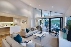 Dunedin 31 Family & Alfresco - Contemporary Home Design - Bondi interior style