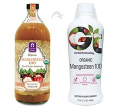 Mangosteen 100 - 100% Pure Undiluted ORGANIC Juice ~ GENESIS TODAY 32oz Bottle ~ 30g Pure Fruit Pulp Per Serving!!! ** Continue with the details at the image link.