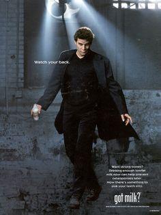 Buffy the Vampire Slayer- David Boreanaz - Angel - Got Milk? Ad