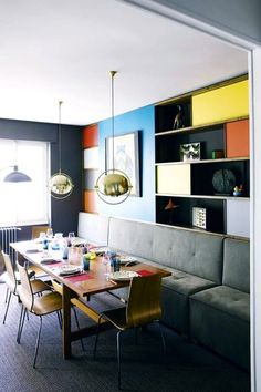 Dining Room inspired by Charlotte Perriand. Design Florence Lopez