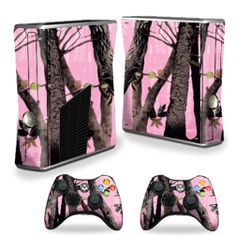 http://www.ebay.com/itm/Skin-Decal-Cover-for-Xbox-360-S-Slim-2-controllers-Skins-Pink-Tree-Camo-/190844972448