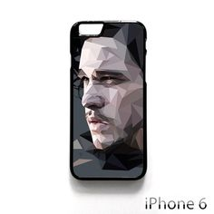 John Snow Games of Throne AR for iPhone 4/4S/5/5C/5S/6/6 plus phonecase