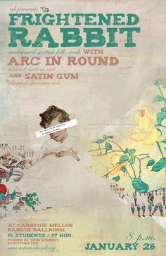 arc in round indie music band | Frightened Rabbit at Carnegie Mellon University (Pittsburgh) on 26 Jan ...