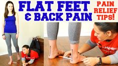 Flat Feet & Back Pain! Easy Exercise for Foot Pain, How to Fix & Bunions In this video, Phsyical Therapist Christie Powell discusses how to fix flat feet for. Foot Pain Relief, Stress Relief, Leg Pain, Back Pain, Back Stretches For Pain, Foot Exercises, Rheumatoid Arthritis Symptoms, Flat Feet, Physical Therapy