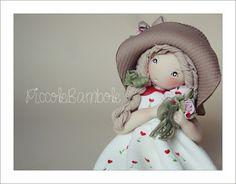 PiccoleBambole: San Valentino! bambola porcellana fredda, pasta di mais - cuori