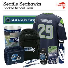 Seattle Seahawks Fans - Pin It to Win It All! You can win a complete back to school NFL prize pack worth over 300 dollars! To enter, pin your favorite NFL Team's Back to School image to win every item in the collage! #FansEdge –Visit http://www.fansedge.com/promotions.aspx?social=pinterest_nfl_pintowin to enter