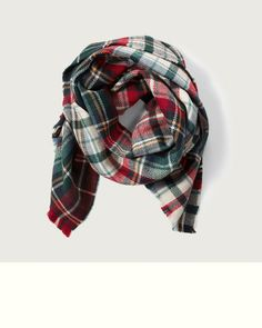 Womens - Plaid Scarf | Womens - Accessories | eu.Abercrombie.com