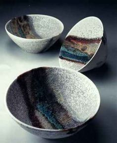 Ceramics by Jacqui Ramrayka at Studiopottery.co.uk - Porcelain Bowls.