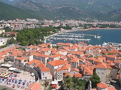 Budve, Montenegro  This resort popular with Russian tourists has fantastic beaches with beautiful cliffs. Be sure to visit the Citadel for a little history with an eye popping view.