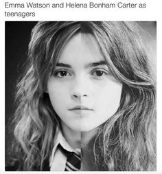 """Helena actually said once, """"of course I always wanted to play hermione, I don't know why they didn't ask me in the first place"""" and now I know why."""