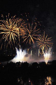 Fireworks Canada Day Fireworks