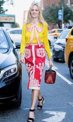 Lauren Santo Domingo at New York Fashion Week