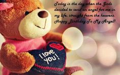 February is celebrated as Teddy Bear day. Share your happiness and love with your near and dear ones with given Happy Teddy Bear Day Quotes. Wife Birthday Quotes, Birthday Wishes For Wife, Romantic Birthday Wishes, Birthday Messages, Birthday Blessings, Birthday Ideas, Birthday Gifts, Cousin Birthday, Birthday Sayings