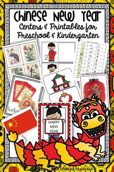 CHINESE NEW YEAR PACK - CREATE CENTERS AND ACTIVITIES FOR EARLY LEARNERS