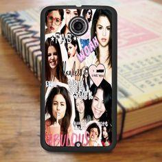 Selena Gomez Collage Idol Star Nexus 6 Case
