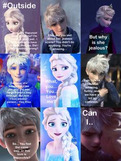 Part 6 awww❤ Elsa and Jack