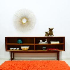 Danish Modern Teak Cabinet from The Modern Historic $825.00 now featured on Fab.
