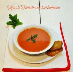 sopa de tomate con hierbabuena more con hierbabuena mis recetas consum ...