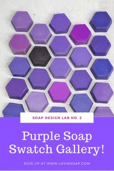 Check out this e-magazine with tips on how to color your soaps and using purple colorant in your soap making recipe!