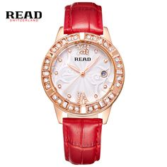>> Click to Buy << READLuxury Watches Women Wristwatches Ladies' Leather Quartz Watch Montre Femme Relojes Mujer Relogio Feminino 2050 #Affiliate