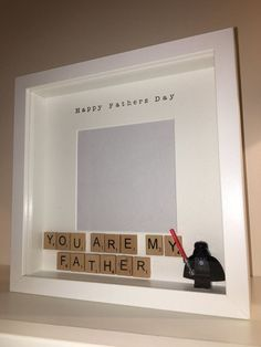 Fathers Day Photo Frame Present Perfect for by BespokeFramesUK #pregnancyannouncementfordad,